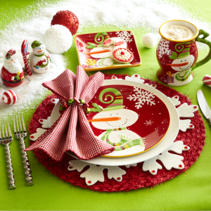 RedSnowmanPlaceSetting-PierOne