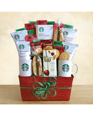 How to Buy for Difficult People or es You Don't Know #1: starbucks tbasket