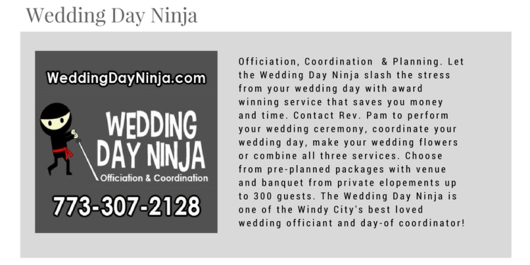 2017 Directory Listing - Wedding Day Ninja