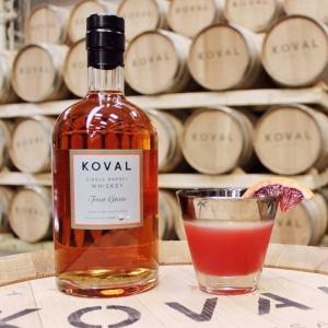 Blood & Sand Cocktail (photo courtesy of Koval Distillery)