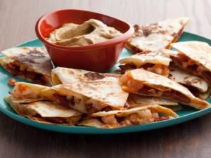 QuesadillasChorizoShrimp-FoodNetwork