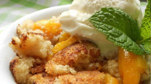 Peach Cobler (Click Image to find more Labor Day Recipes from All Recipes)