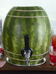 Watermelon Keg (Click the image to learn how to make it yourself)