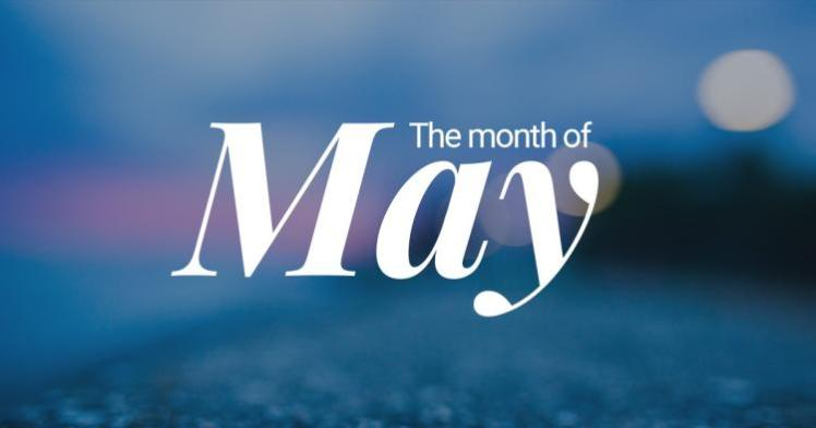 May-themonthof