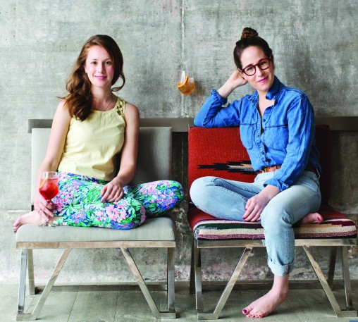 Spritz_Leslie Pariseau and Talia Baiocchi