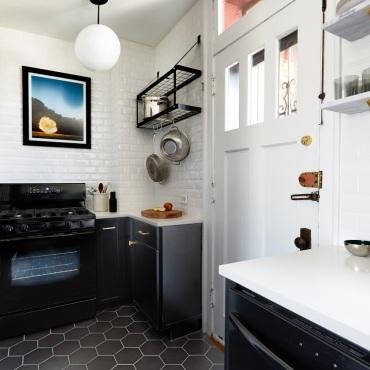 Curtis' Kitchen After