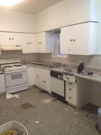 Lakeview Kitchen Before