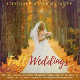 Share Your Fall Wedding with Us!
